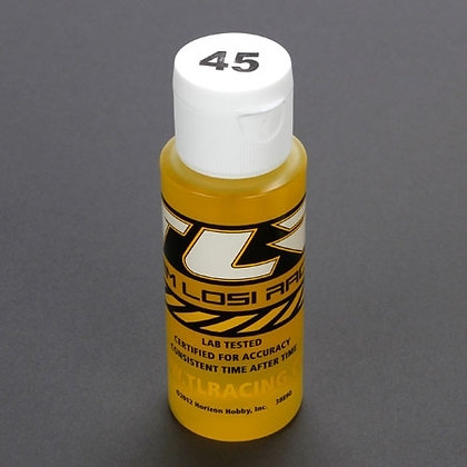 TLR Silicone Shock Oil, 45 Wt, 2 Oz