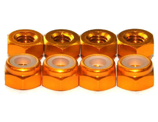 MAX 3 mm Lock Nut ( 10 pcs ) Orange