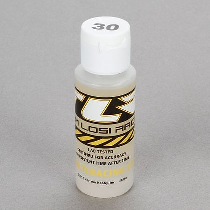 TLR Silicone Shock Oil, 30 Wt, 2 Oz