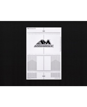 AM-170074 Plastic Set-Up Board Decal For 1/10
