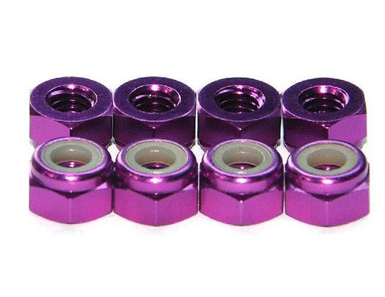 MAX 3 mm Lock Nut ( 10 pcs ) Purple