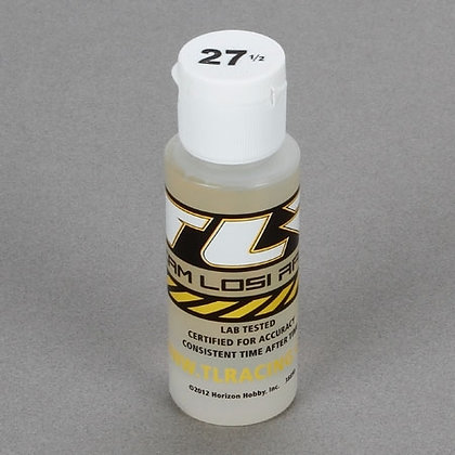 TLR Silicone Shock Oil, 27.50 Wt, 2 Oz