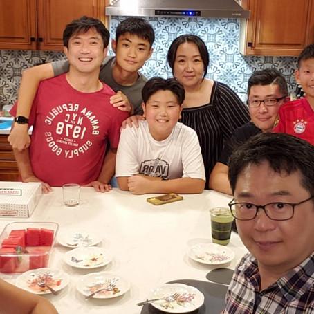 김진한/김동성 집사님 가정 방문