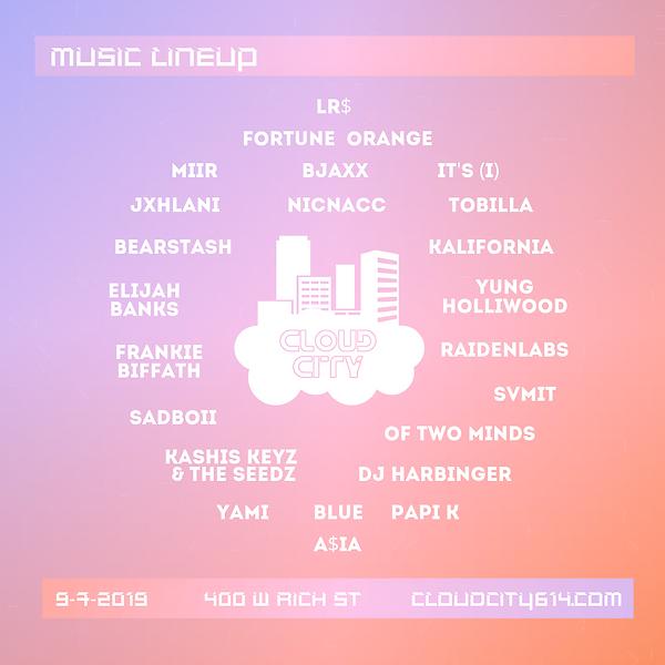 Cloud City Music Lineup Flyer Final (1).