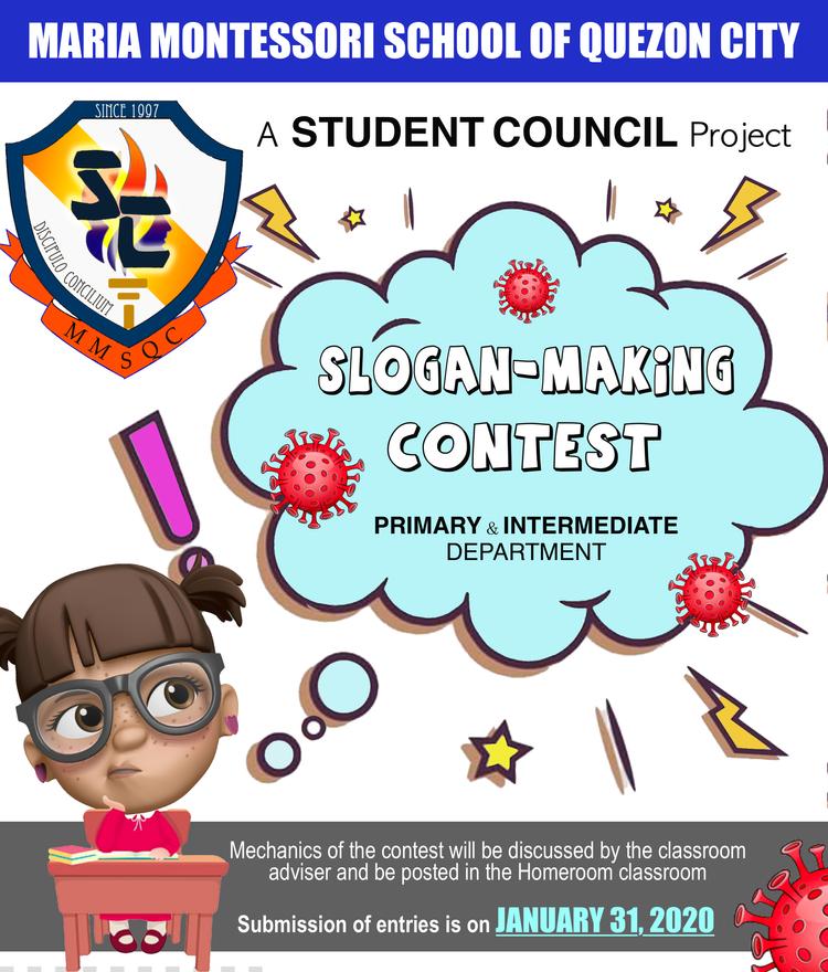 Slogan-Making Contest - January