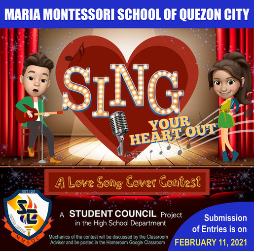 Sing Your Heart Out   February