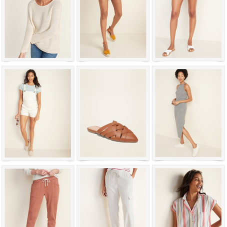 SPRING FASHION FROM OLD NAVY