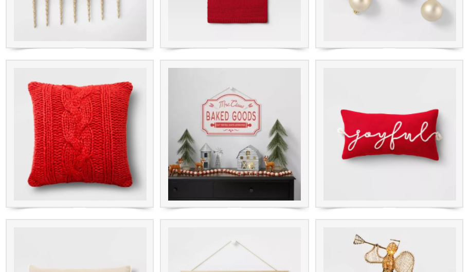 EVERYTHING I BOUGHT FROM TARGET AND MORE | CHRISTMAS DECOR EDITION