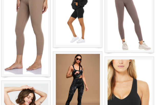 MY FAVORITE ACTIVEWEAR PIECES & MATCHING SETS