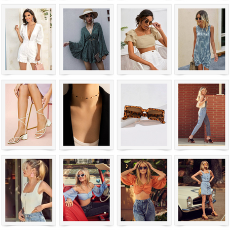 SUMMER STYLES FROM SHEIN