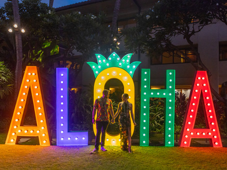 AN EVENING AT THE GRAND HYATT KAUAI LUAU
