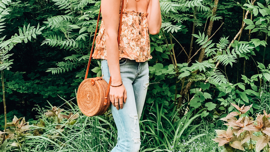 FLORAL & FLARE BOHO LOOK