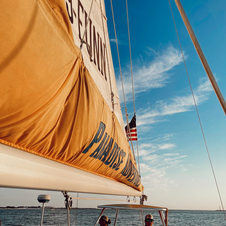 OUR SUNSET SAIL WITH PARADISE ADVENTURES PANAMA CITY BEACH