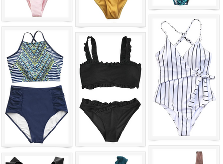 AMAZON SWIM FAVORITES UNDER $35!