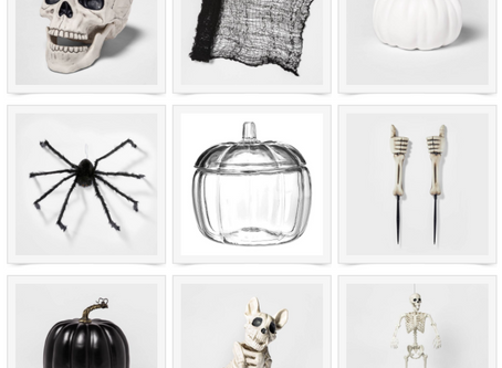 MY FAVORITE HALLOWEEN DECORATIONS FROM TARGET