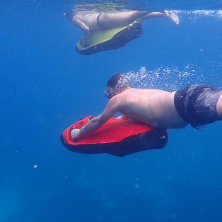 OUR UNDERWATER TOUR WITH SEABOB ARUBA