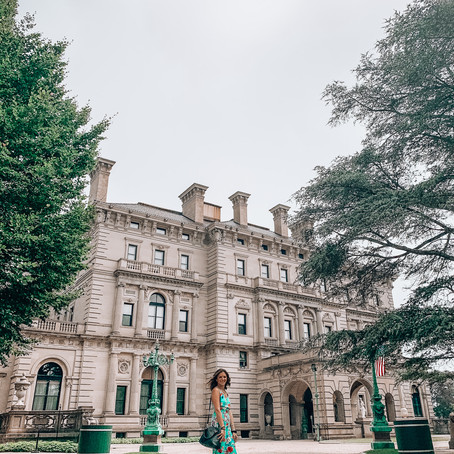 SNAPS FROM OUR NEWPORT MANSION TOUR AND CLIFF WALK
