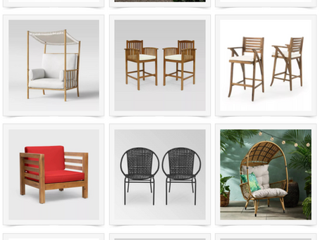 TARGET OUTDOOR & PATIO FURNITURE