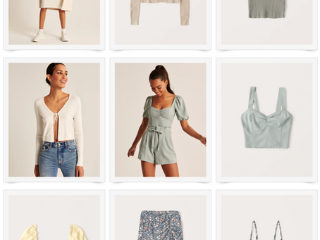 SPRING FAVORITES FROM ABERCROMBIE
