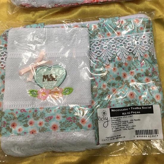 Kit Mãe - Necessaire + 01 toalha