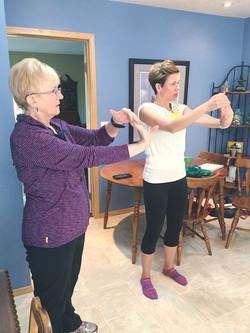 Bicep & Forearm Stretch