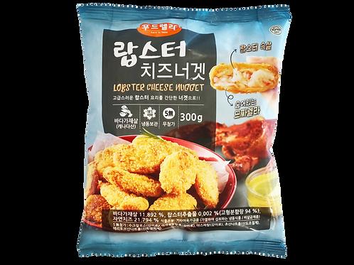 脆脆芝士龍蝦風味塊(含11.892%龍蝦肉)