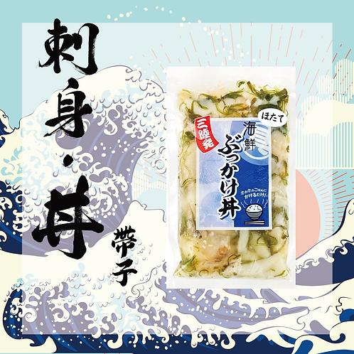 懶人料理 - 日本三陸產海鮮蓋飯刺身 - 帆立貝(不含飯)