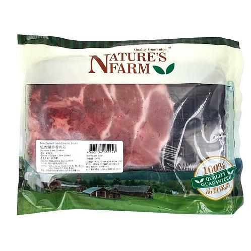 紐西蘭無添加激素羊卷肉片300g (急凍)