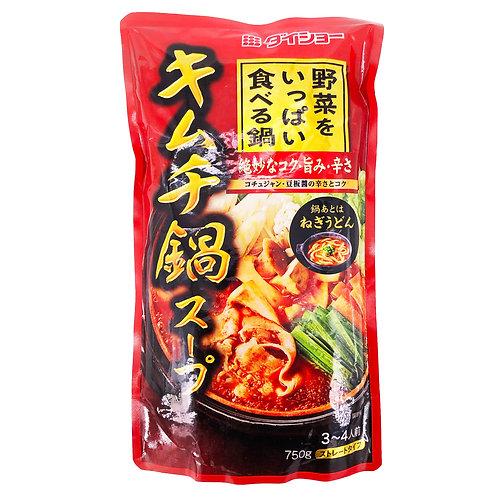 日本泡菜鍋湯底