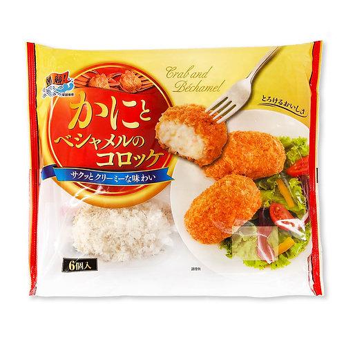 日本蟹肉白汁脆薯餅(6個入) 氣炸鍋適用 產品到期為:2021/09/04