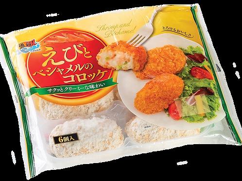 日本新貨 - 蝦肉白汁薯餅