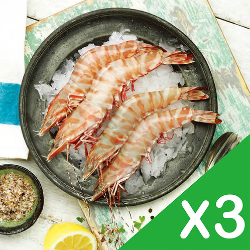 澳洲海捕野生老虎蝦(3包)