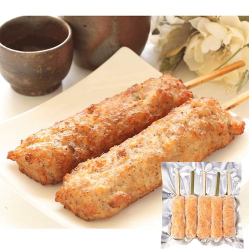 日本直送免治雞肉軟骨棒(5串入) 氣炸鍋適用