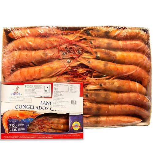阿根廷紅蝦(刺身級)L1約2KG(20-40隻)