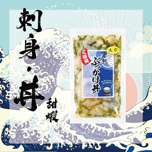 懶人料理 - 日本三陸產海鮮蓋飯刺身 - 蝦(不含飯)