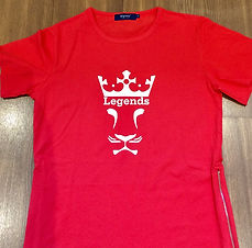 Apparel Printing - Custom Legens T-Shirt Print