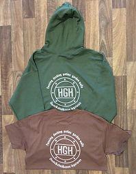Apparel Printing - HGH Logo Printed T-Shirt and Hoody