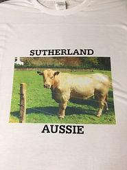Apparel Printing - Sutherlan Aussie Printed T-Shirt