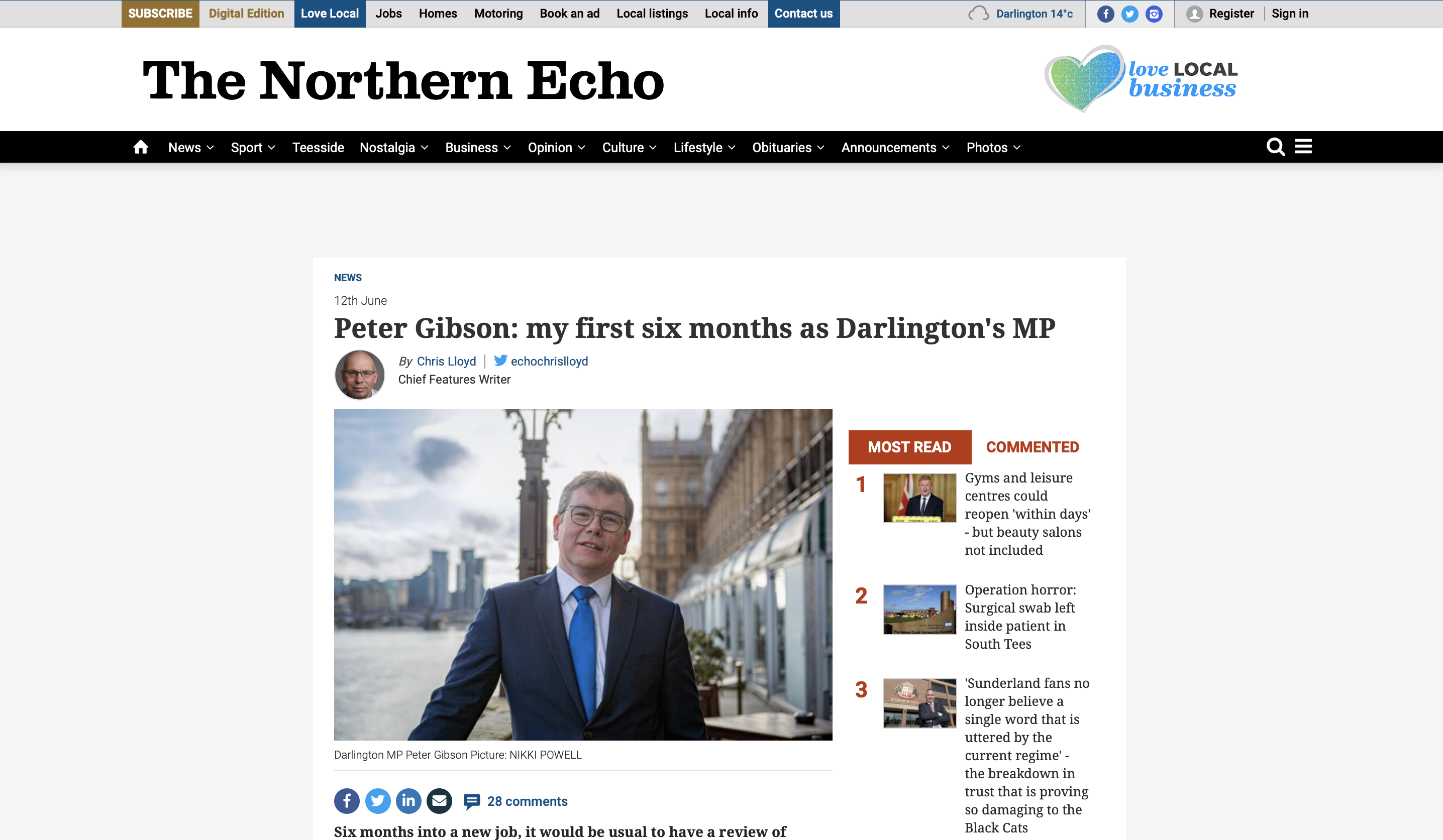 www.thenorthernecho.co.uk