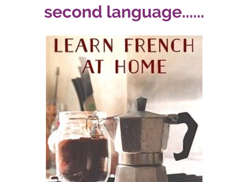 Adoption and a second language