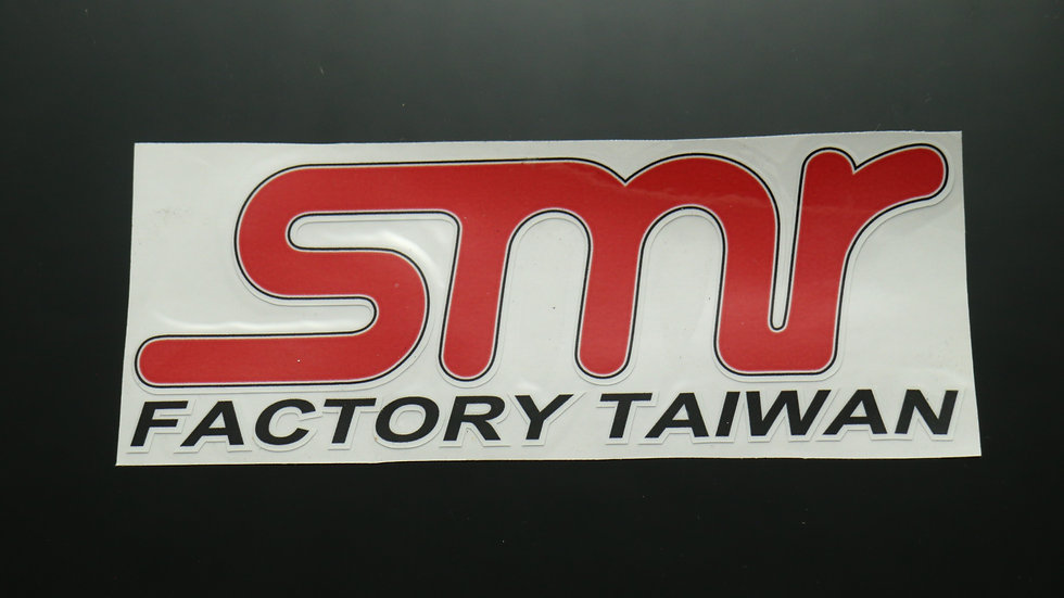 SMR Factory Stickers (170mm*67mm)