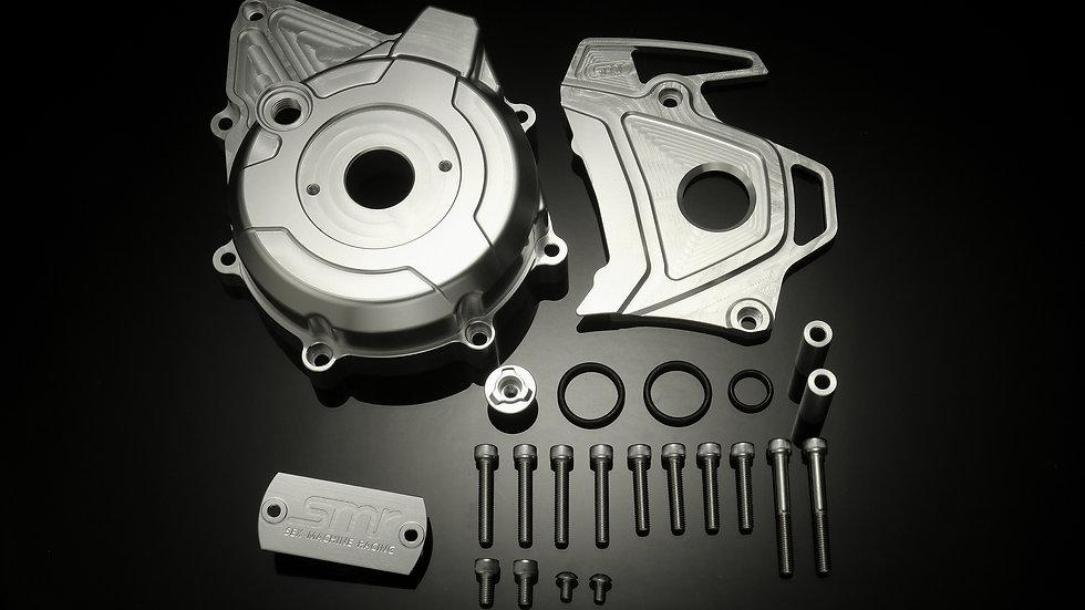 SMR CNC Stator Cover & Gear Cover (HONDA MSX-125/GROM-125用)