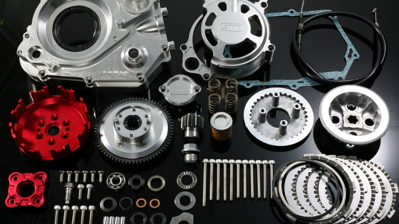 SMR 6 Clutch Disk CNC Dry Clutch Kit