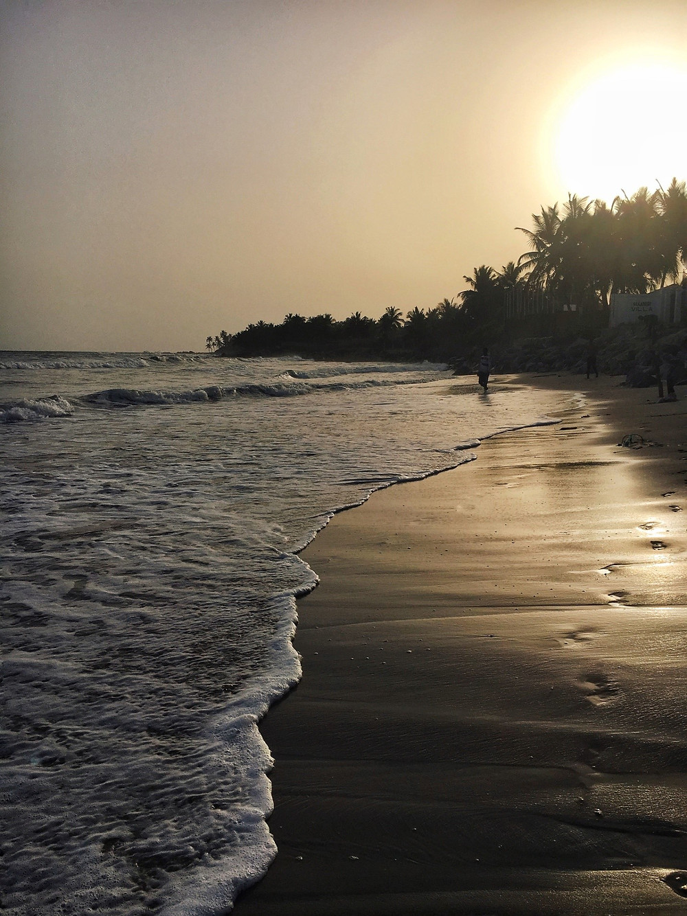 If you move a little bit away from the center of Accra, the beaches are awesome! The Gulf of Guinea became very beloved to us as well! Lifetime experience!