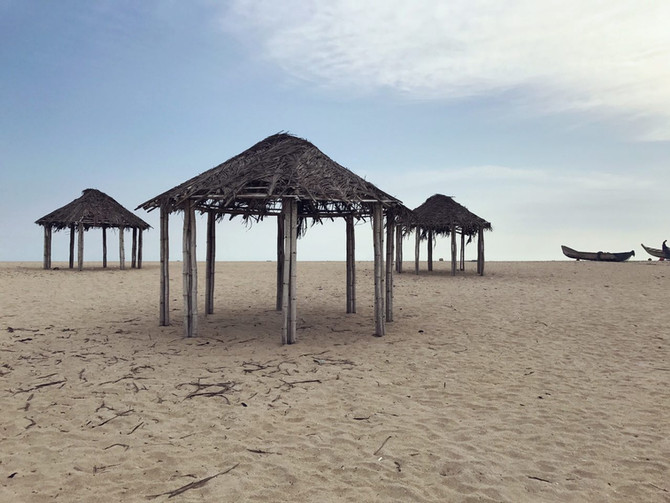 Ghana. Camp 2. Bojo Beach.
