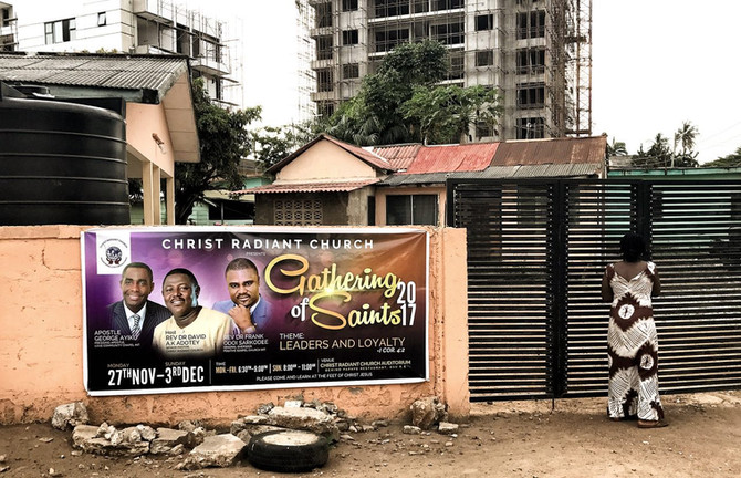 Ghana. Camp 2. Religion.