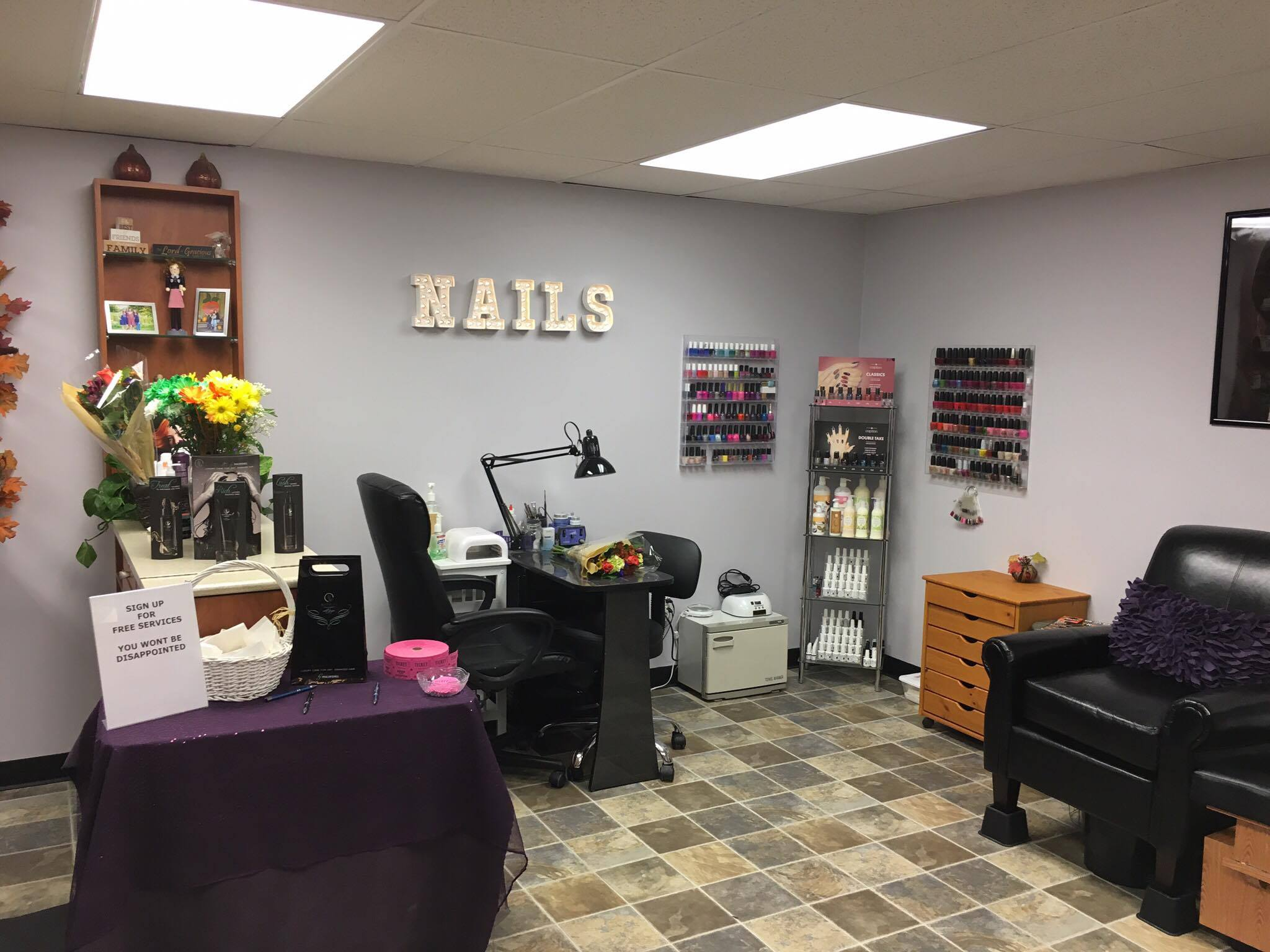 Our nail station