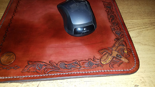 Custom Leather Mousepad