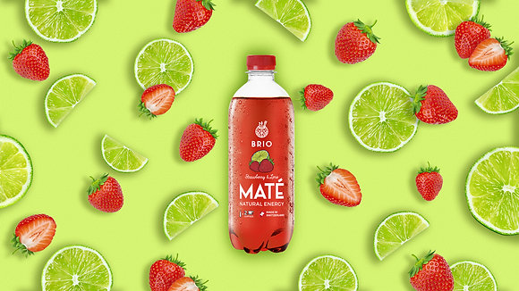 Strawberry & Lime (R-PET 50cl x 12)