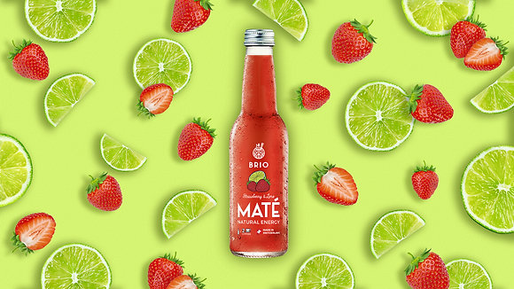 Strawberry & Lime (Glass 33cl x 12)
